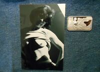 1 troy oz .999 fine silver bar bare breasted cupid girl & Hotty Dotty photo