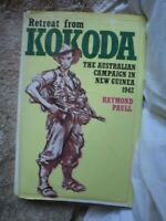 CUP 1 x MILITARY BOOK ILLUSTRATED RETREAT FROM KOKODA 319 PAGES AUSTRALIAN