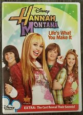 HANNAH MONTANA - LIFE'S WHAT YOU MAKE IT - Disney DVD- Miley Cyrus, Emily Osment