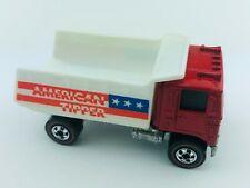 Hot Wheels Redline AMERICAN TIPPER Red Enamel Flying Colors NM/M MINTY Clean!