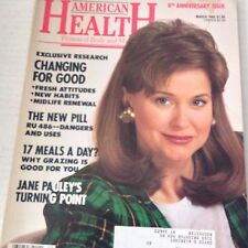 American Health Magazine Changing For Good March 1990 071717nonrh