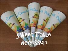 20 coni portaconfetti party set festa compleanno sweet table battesimo comunione