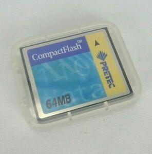 Pretec CompactFlash 64MB P/N CFT064