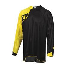 Jersey de motocross color principal negro