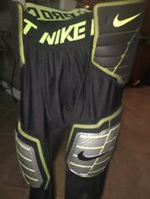 mens Medium NIKE pro combat Hyperstrong 3/4padded football compression pants M 5