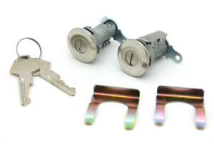 NEW Lockcraft Door Lock Cylinder Set w/Keys / FITS 1967-89 DODGE RAM TRUCK & VAN