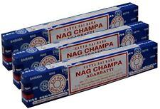 3 boites d'encens Nag Champa Satya de 15 gr