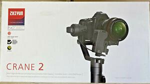 Zhiyun Crane-2 3-Axis Stabilizer with Servo Follow Focus Motor CRA02 NEW!