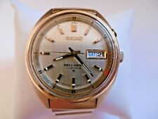 VINTAGE 1970'S SEIKO GOLD PLATED BELLMATIC AUTOMATIC MECHANICAL WRISTWATCH