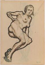 "Erwin Stolz (1896-1987), ""Female Nude"", 1920s, Large Drawing"