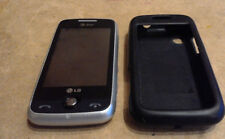 LG Prime GS390 - Silver (AT&T) Cellular Phone DEAD - AS IS