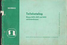 Limbach-Oberfrohna, pièces-CATALOGUE 1960, Textima 8410 8411 8413 nähmaschinenwerk