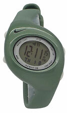 New Nike Triax 10 Regular WR0006 Green Digital Chronograph Sports Watch