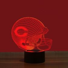 Chicago Bears Collectible Led Light Lamp Home Decor Gift Jay Cutler