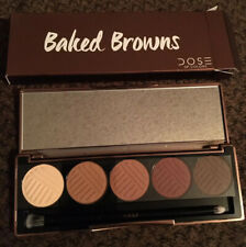 Dose Of Colors Baked Browns Eyeshadow Palette w/ Brush New In Box Free Shipping