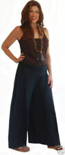 pick color & size pants gauchos yoga bell bottom wide waist spandex