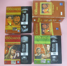 3 VHS film ODISSEA Bekim Fehmiu Irene Papas Franco Rossi L'UNITA' (F165) no dvd