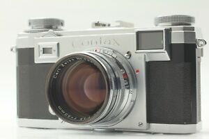 [ NEAR MINT ] Contax Zeiss Ikon IIa Color Dial w/ Sonnar 50mm f1.5 Lens JAPAN