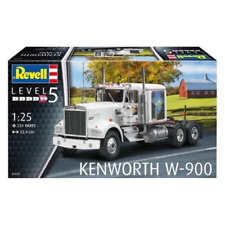 1 25 Kenworth W900 Truck Plastic Kit Revell