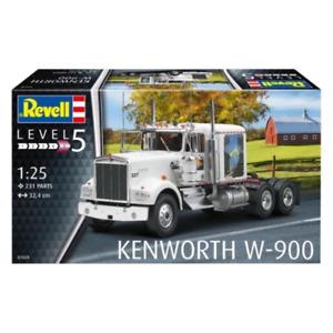 Revell 07659 1/25 Kenworth W-900 Truck Plastic Model Kit Brand New