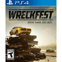 Wreckfest - PlayStation 4 Brand New Sealed  ( PS4 2019 Games )