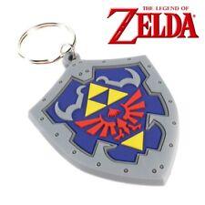 LEGEND OF ZELDA HYLIAN SHIELD KEYRING Key Chain Official Nintendo Merchandise UK