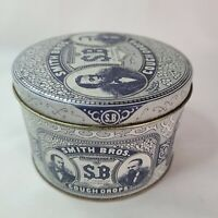 SMITH BROS. VINTAGE COUGH DROP TIN