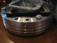 """Vacuum Flange Coupling Plate Varian ? 3 3/4"""" Square Inner Mount  - 6.5"""" OD Outer"""