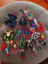 Action Figure Lot GODZILLA SPIDERMAN BATMAN TRANSFORMERS  ROBOT ANIME TAZ CYBOR