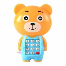 Music electronic toy phone, mini cute children phone, early education toys, cart