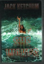 She Wakes by Jack Ketchum 1984 Signed Limited Edition Hardcover
