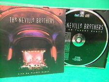 The Neville Brothers Live On Planet Earth 1994 NM CD Jazz Rock New Orleans R&B