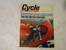 November 1967 Zyklus Magazin, 2 Norton Specials Atlas, Metisse, Maico 360 Scrambler