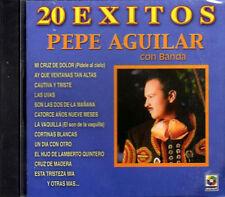PEPE AGUILAR 20 EXITOS Con Banda CD nuevo y original GRANDES EXITOS NEW & Sealed