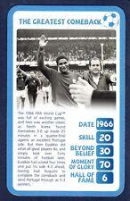 TOP TRUMPS-SA 2010-NORTH KOREA 3 PORTUGAL 5-1966-THE GREATEST COMEBACK-EUSEBIO