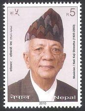 Népal 2010 Nati Kaji Shrestha/Musicien/Chanteur/musique/chant/personnes 1 V (n40660)
