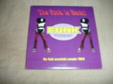 Funk Essentials Sampler 1994 CD The Funk Is Back Promo Cameo Gap Band Bar-Kays