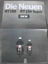 DKW RT 159 SUPER HERCULES K50SX K50RX PROSPEKT 1970 TOP