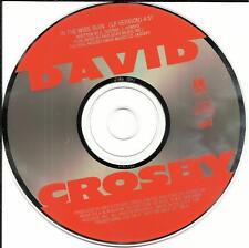 Crosby Stills and Nash DAVID CROSBY In the Wide Ruin USA 1989 PROMO DJ CD Single
