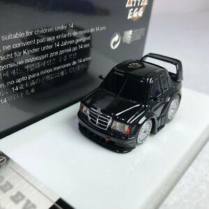 1/64 Little Egg X Art Work Mercedes Benz 190E Black Q Car