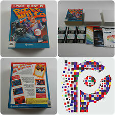Space Quest IV Roger Wilco A Sierra Game for the Amiga tested & working VGC