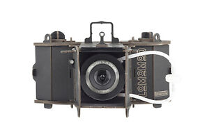 LomoMod No.1 - A flat-packed 120 film cardboard camera that can be built at home