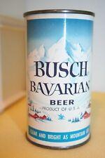 Busch Bavarian Beer 12 oz. Dncmt4% flat top from St. Louis, Missouri