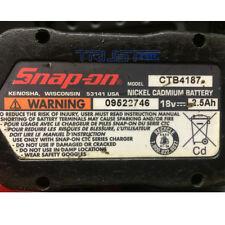 battery Rebuilt For SNAP-ON 18v 3000mAh High Capacity Ni-MH Battery CTB4187