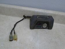 Honda 250 TRX FOURTRAX TRX250 Used Ignition Switch Cover 1986 HB220