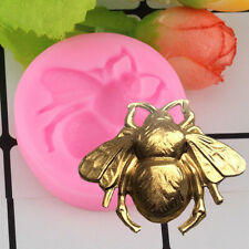 Silicone Food-grade Bee Cake Mold DIY Clay Sugarcraft Fondant Baking Decor Mould