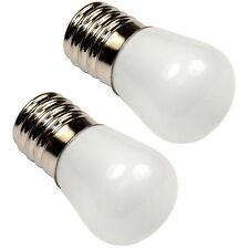 2-Pack HQRP 110V E17 Base LED Bulb for Fridge Refrigerator Microwave Range Hood