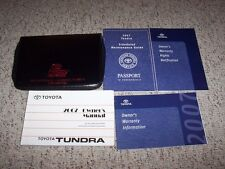 2007 Toyota Tundra Owner Owner's User Manual SR5 Limited Crew Max 4.7L 5.7L V8