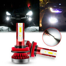 H8 6000K White COB LED Fog Light Bulbs For Infiniti G37 M37 M56 QX56 EX35 FX35