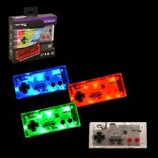 Retrolink NES USB Wired Game Controller LED Color Blue/Green/RED for PC and Mac